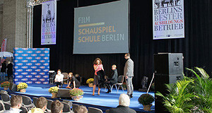"""Filmschauspielschule Berlin auf der Ausbildungsmesse """"Tage der Berufsausbildung"""""""